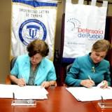 Defensoría del Pueblo de Panamá firmó convenio de cooperación con universidades