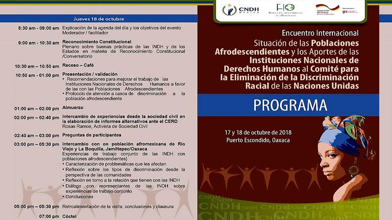 Encuentro internacional en México