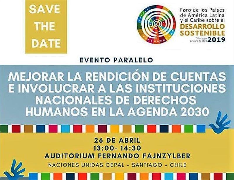 FIO, potagonista de un evento sobre desarrollo sostenible en Chile