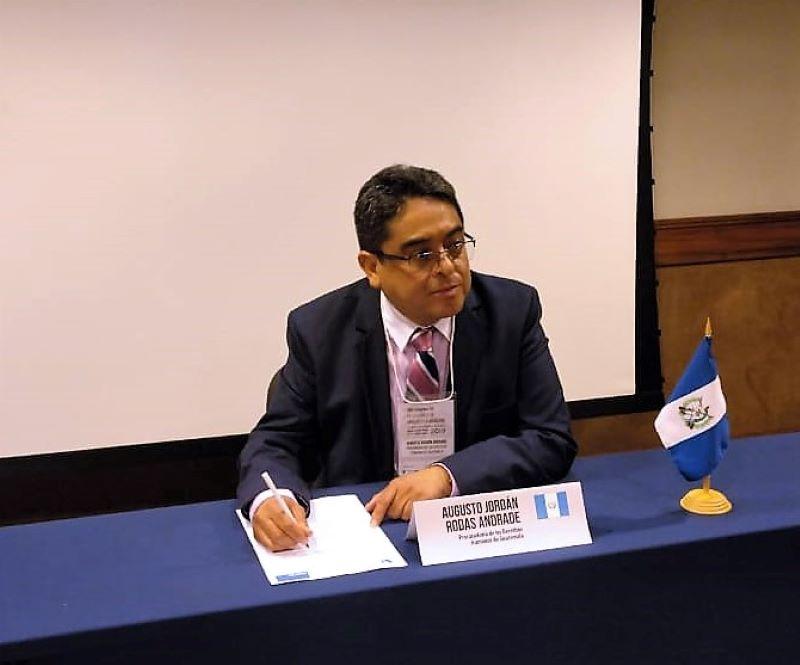 El procurador de DDHH de Guatemala fue electo presidente de la FIO
