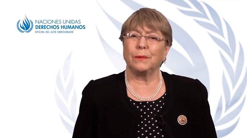 Mensaje de Bachelet ante ataques a instituciones de derechos humanos