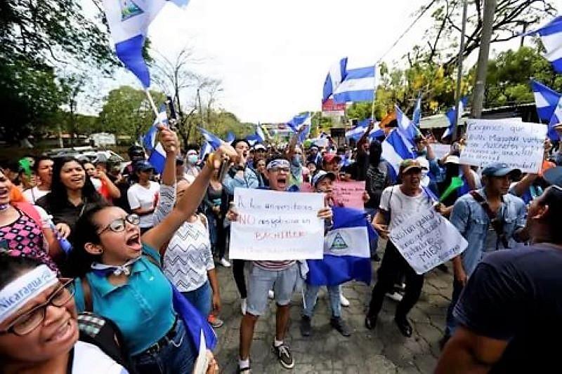 Instan al gobierno de Nicaragua frenar la persecución política